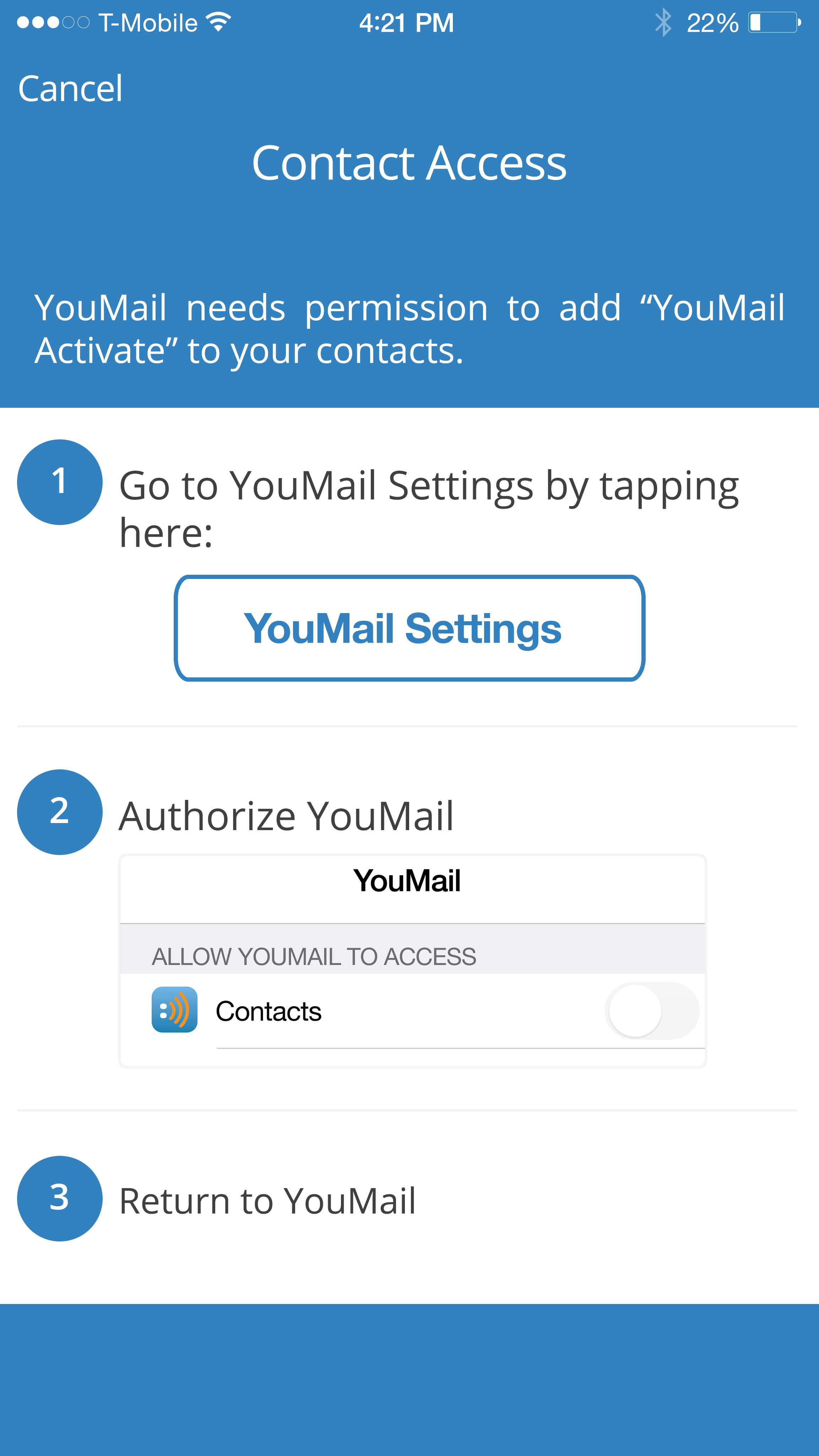 Youmail Wux