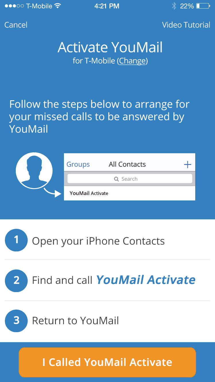 Youmail wux 1 cntctaccss 3 activateym m4hsunfo