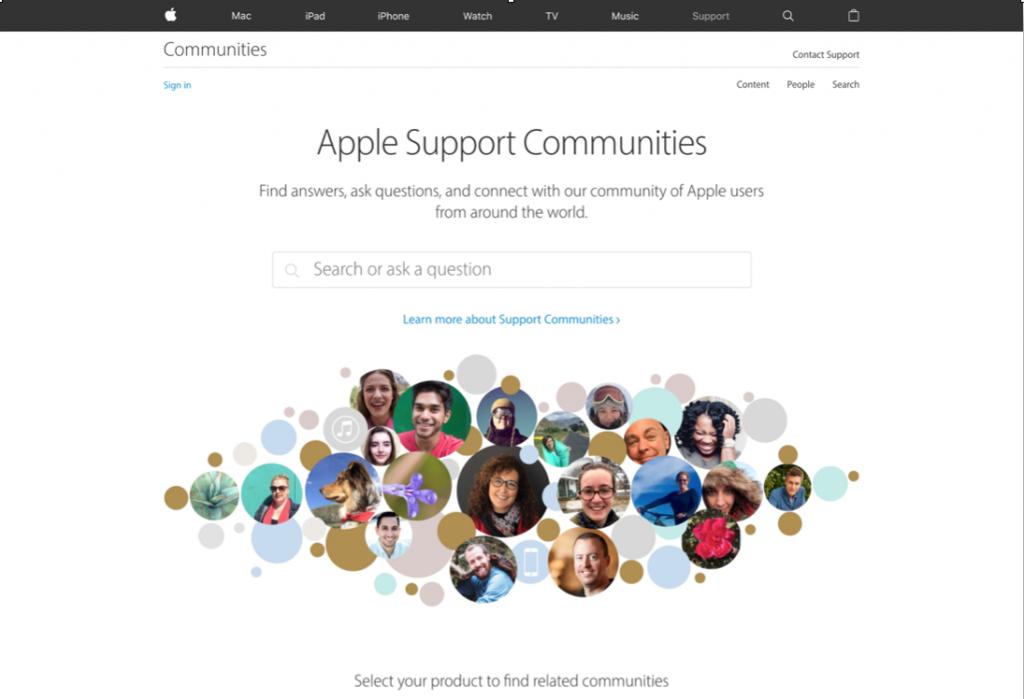Apple masthead paradigm
